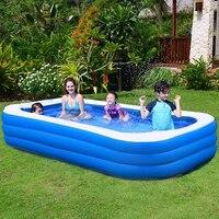 Piscina inflable para patio trasero, bañeras infantiles resistentes al desgaste, gruesas, para la familia, hwc
