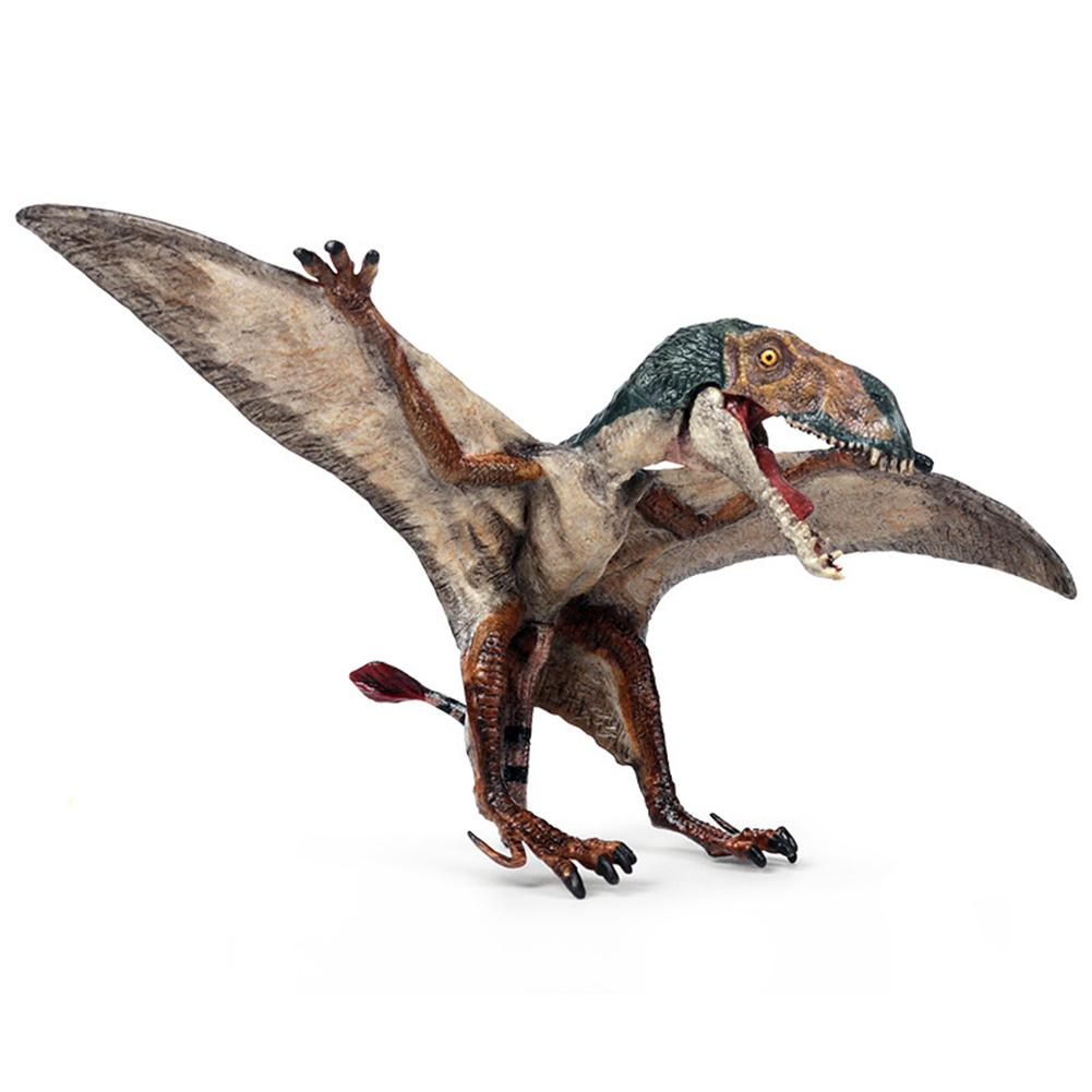 Realistic Pterodactyl Dinosaur Action Figurine Model Desktop Decor Kids Toy Gift  Collection Model Toys Collection Animal New