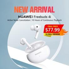 在庫あり! グローバルバージョンのhuaweiイヤホンfreebuds 4i twsワイヤレスbluetooth 5.2ヘッドフォンノイズキャンセル10 960h再生