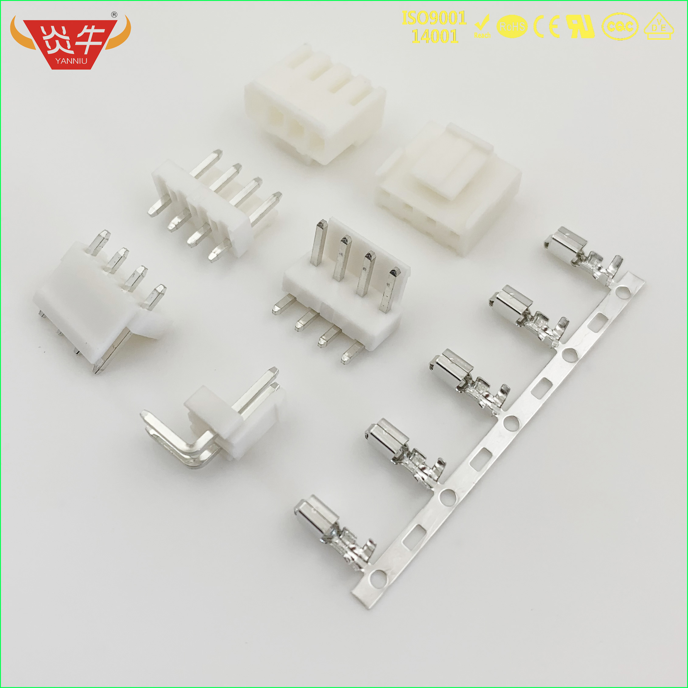 VH 3.96 WHITE STRIP CONNECTOR 3.96mm HOUSING WAFER TERMINAL HX39600-PT HX39600-Y HX39601-A HX39601-WAP HX39601-WAG HXH MOLEX JST