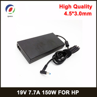 19V 7.7A 4.5*3.0mm150W Notbook Power Supply Laptop Adapter for HP ADP 150XB G3 G4 ZBook 15 HSTNN C87C 3pro TPN Q193 Charger