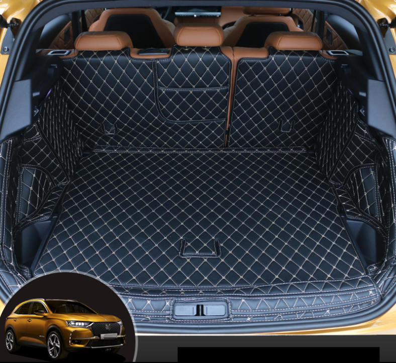 2017 on Nomad Auto Tailored Fit Durable Black Boot Liner Tray Mat Protector for Citroen C3 Aircross