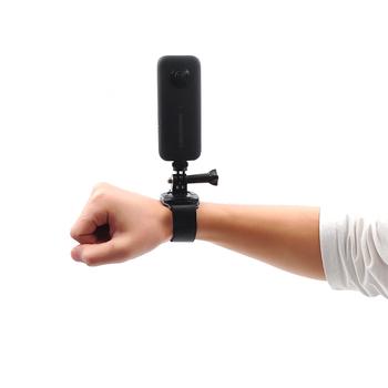 Insta360 one X akcesoria do kamer sportowych prosty pasek na rękę pasek uchwyt do statywu do aparatu Ricoh Theta SC 360 stopni tanie i dobre opinie STARTRC Skeletons Frames one X eveo fitted