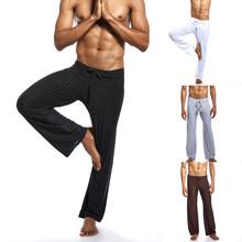 Męskie nowe modne czyste majtki domowe spodnie do jogi Tie-up wygodne spodnie wstążki czarne hip-hopowe męskie spodnie do biegania tanie tanio Harem spodnie CN (pochodzenie) Niskie Mieszkanie Poliester NONE REGULAR 0125 Mens Pants High Street Midweight Denim Pełnej długości