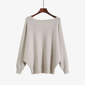 Women Sweaters And Pullovers Autumn Winter Sexy Slash Neck Long Sleeve Pull Femme Solid Pullover Female Casual Knitted Jumper 2019 new women sweaters and pullovers autumn winter long sleeve pull femme striped pullover female casual knitted sweater