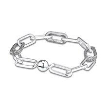 New Me Sammlung Armbänder Mir Link Armband Passt Mir Sammlung Baumeln Charms 925 Sterling Silber Schmuck Frau Mode Armband