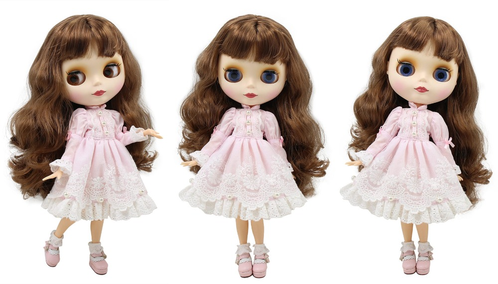 Premium Custom Neo Blythe Doll with Full Outfit 27 Combo Options 2
