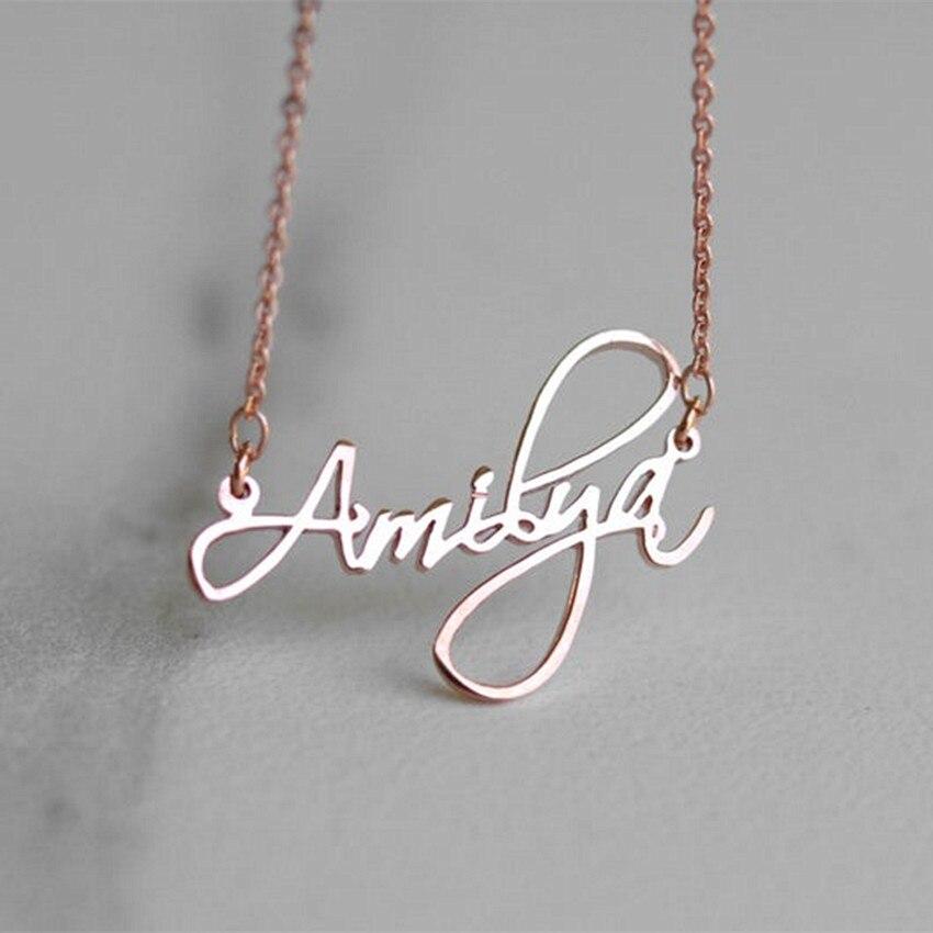 Nombre Personalizado personalizado pendientes para mujer inicial cursiva Arito Regalos