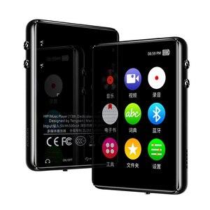 Image 3 - Оригинальный металлический MP3 плеер Bluetooth 5,0, сенсорный экран 2,4 дюйма, встроенный динамик 16 ГБ, электронная книга, Радио, запись, воспроизведение видео