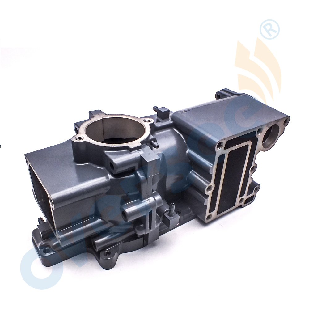 For Yamaha Outboard 6E3 15100 02 1S CRANKCASE ASSY 5HP Engine Motor Part - 4