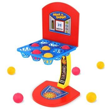 Mini Basketball Desktop Shooting Toys Parent-child Interaction game Basketball Shooting Educational Toys For Kids Birthday Gifts