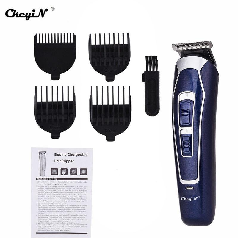 CkeyiN Professional hair cutter, refill gauge, hair clipper for Barba, hombre hair cutting machine, water prune shaving clipper