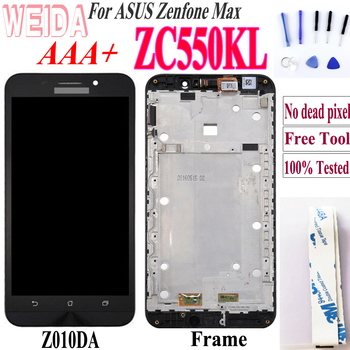 Original LCD 5.5'' For ASUS Zenfone Max ZC550KL Display Touch Screen Digitizer For ASUS Zenfone Max LCD ZC550KL Display Z010DA кейс для назначение asus zenfone max zc550kl asus zenfone 2 laser ze550kl asus asus zenfone 6 a601cg бумажник для карт кошелек со стендом page 8