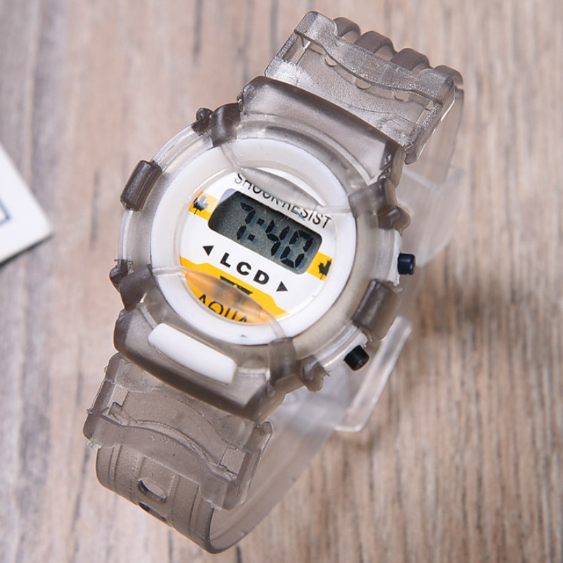 Functional Electronic Kids Watch  Students    Outdoor Sports Table  Boys And Girls  Fashion Children Watch  Luminous