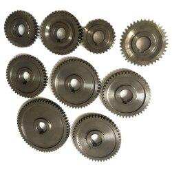 9 sztuk/zestaw CJ0618 gospodarstwa domowego małe tokarki  mikro tokarka biegów  Metal wymiany biegów w Tokarki od Narzędzia na
