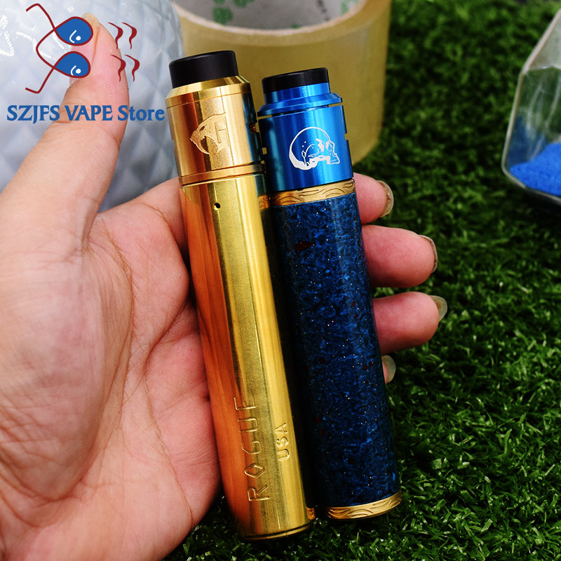 E Cigarette 18650 FrankenSkull Squonk Mod BF Box Mod Kit Bottom Feeder Vape Mechanical Mod Vape Mech Mods Vaporizer Gani Mech Mo