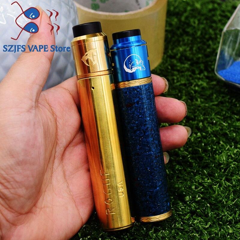 E Cigarette 18650 FrankenSkull Squonk Mod BF Box Mod Kit Bottom Feeder Vape Mechanical Mod Vape Mech Mods Vaporizer Gani Mech Mo
