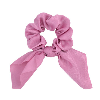 New Chiffon Bowknot Elastic Hair Bands For Women Girls Solid Color Scrunchies Headband Hair Ties Ponytail Holder Hair Accessorie 15