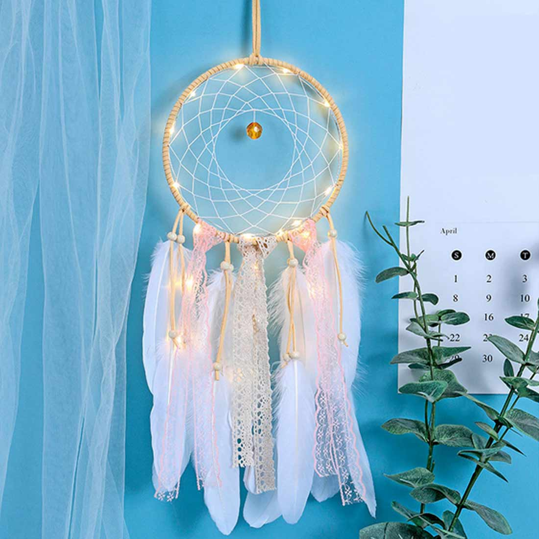 Dream Catcher Color Decor Baby Room Decoration Wall Hanging Bedding Bumpers Kids Party Kids Girls Room Decor