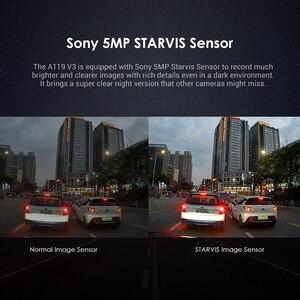 Image 5 - VIOFO A119 V3 2K 60fps كاميرا عدادات السيارة سوبر للرؤية الليلية رباعية HD 2560*1440P جهاز تسجيل فيديو رقمي للسيارات مع وضع وقوف السيارات G الاستشعار اختياري لتحديد المواقع