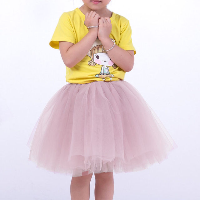 Tulle Skirt for Babies and Girls DaMohony for Dance Wedding Ceremony 0-10 Years Tiered Tutu Skirt for Girls