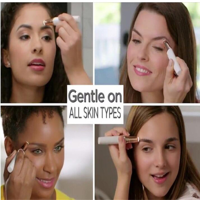 Electric Eye Brows Epilator Eyebrow Trimmer Mini Painless Eye Brow Epilator For Women Eyebrow Trimmer Mini Shaver Razors 3