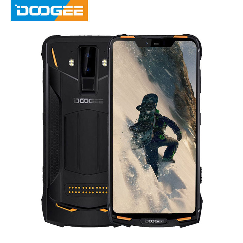 IP68 DOOGEE S90 Pro Modular Rugged Mobile Phone Helio P70 Octa Core 6GB 128GB 6.18inch Display 12V2A 5050mAh 16MP+8MP Android 9(China)