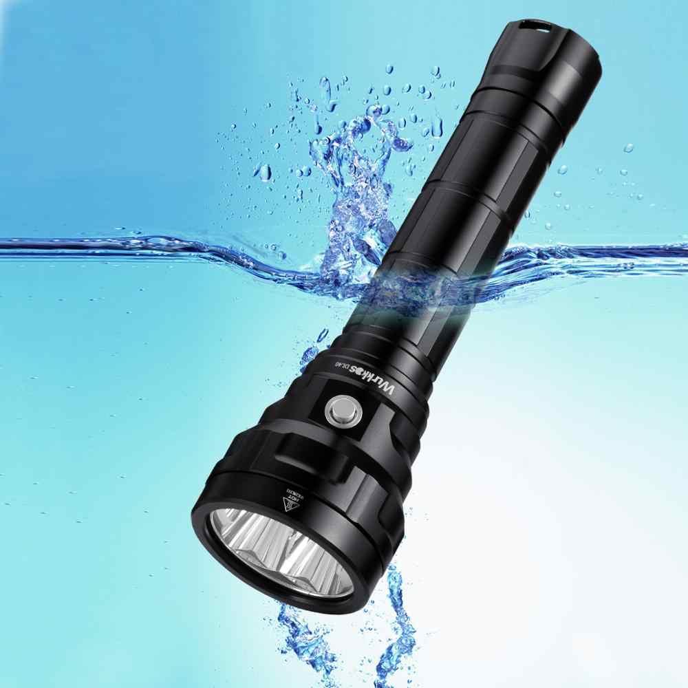 LED Tauchen Unterwasser Taschenlampe Taschenlampen Wasserdicht GLO-45