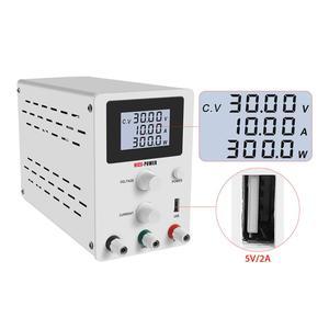 BLAUBUCHT Labor DC Netzteil 30 V 10A Einstellbare Schalt Bank Quelle Digital Spannung Und Strom Regler 30 V Quelle