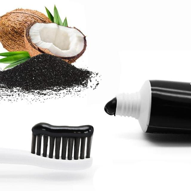 100g Charcoal Toothpaste Natural Activated Charcoal Teeth Whitening Toothpaste Oral Hygiene Dental Toothpaste Tools FDA