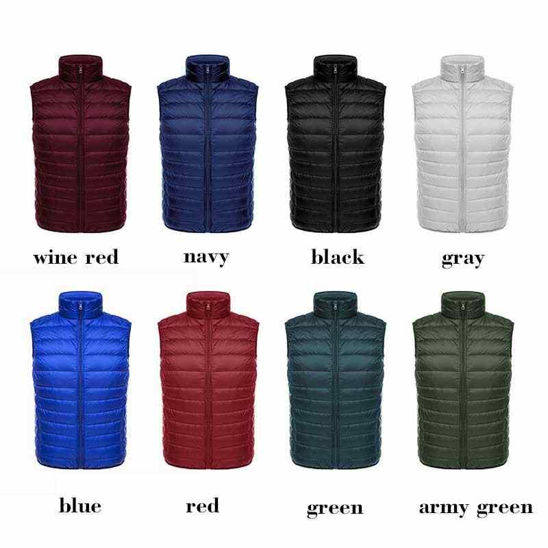 6XL ฤดูหนาวลงเสื้อกั๊กผู้ชาย GILET แคนาดา SLIM FIT แฟชั่น New WARM Fornite Warm ชายเสื้อ HOMME เสื้อแจ็คเก็ต Bodywarmer