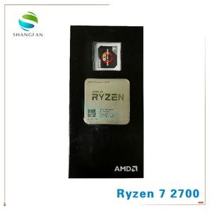 Image 3 - جديد AMD Ryzen 7 2700 R7 2700 3.2 GHz ثماني النواة سنتين الموضوع 16 متر 65 واط معالج وحدة المعالجة المركزية YD2700BBM88AF المقبس AM4 مع مروحة تبريد