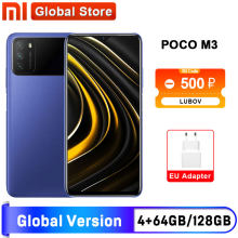 POCO-teléfono inteligente M3 versión Global, 4GB y 64GB /4GB y 128GB, 662 Snapdragon, pantalla de 6,53 pulgadas, batería de 6000mAh, cámara de 48MP, España