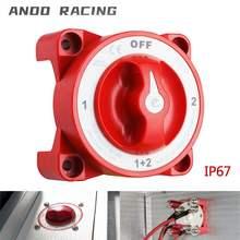 4 Position 32V 350 Amp E Serie Wasserdichte Zündung Geschützt Marine Boot Dual Batterie Isolator Schaltet Weiß/rot