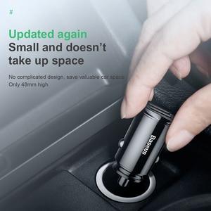 Image 4 - Baseus Quick Charge 4,0 3,0 USB Auto Ladegerät Für iPhone Xiaomi Huawei QC 4,0 QC 3,0 QC Auto Typ C PD Schnelle Auto Handy Ladegerät