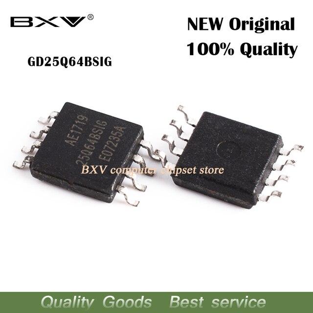 Free shipping 5pcs GD25Q64BSIG 25Q64BSIG GD25B64 SOP 8 new original