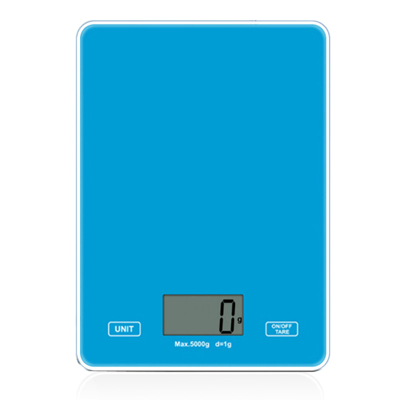 Food Preservation Food hong bei cheng Mini Small 5kg Kitchen Electronic Scale Household Glass Kitchen Scale