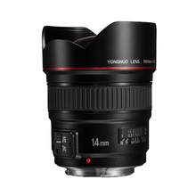 YN 14mm f2.8 Ultra-wide Angle Lens  Full Frame Large Aperture AF Fixed Focus Lens for CANON 7D 5D 70D Nikon D300 D550 D3000 DSLR yongnuo yn 50mm lens fixed focus lens ef 50mm f 1 8 af mf lense large aperture auto focus lens for canon dslr camera pouch bag