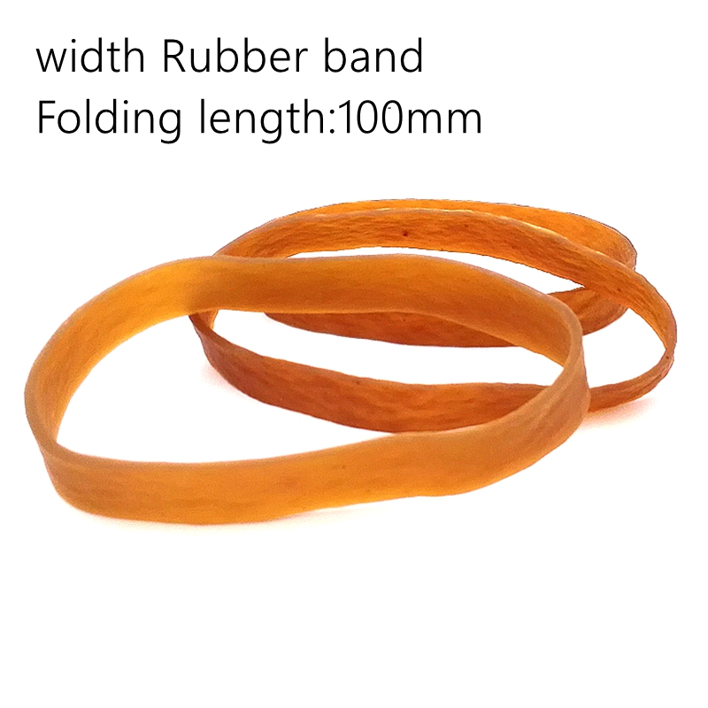 100x10mm Rubber Band Of Money Stationery Organizer Rubber Band Holder 10mm Width Office Stationery Holder Long Rubber Band
