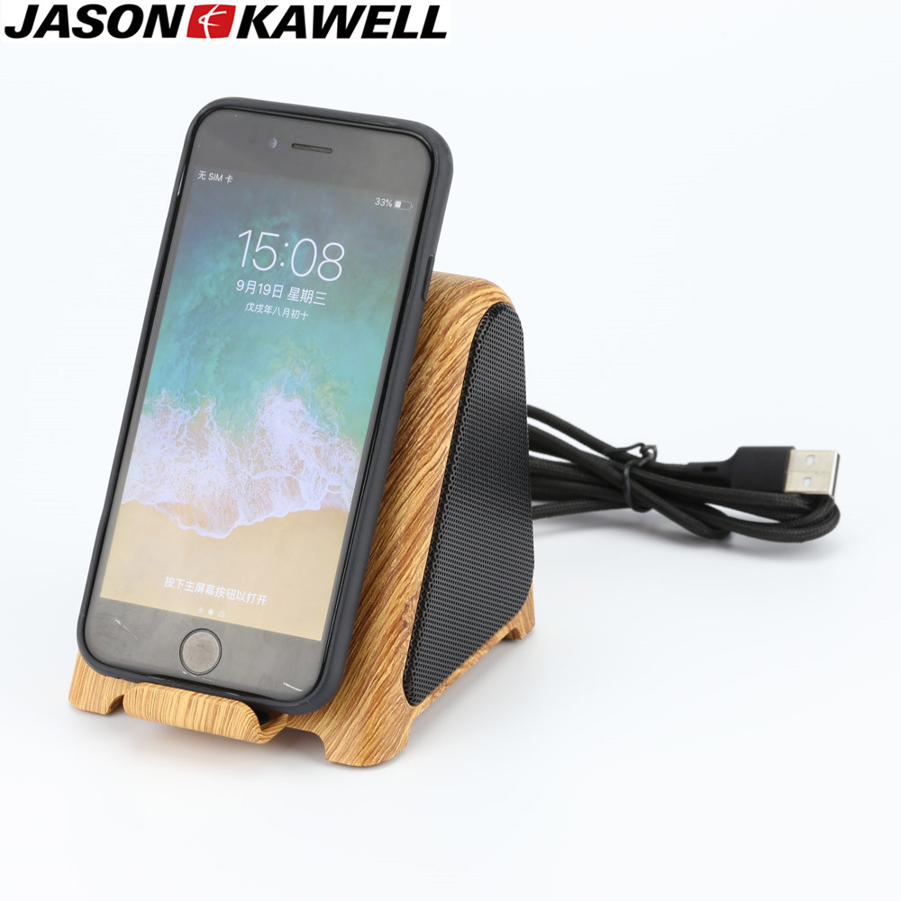 Portable Bluetooth Speaker Wireless Charger For Samsung Galaxy S10 Qi Fast Charging For iPhone 11PRO MAX XS for Xiao wood