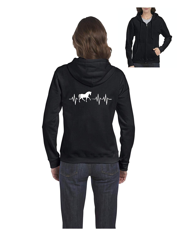 TSDFC Horse Riding Gift Horses Womens Sweaters Zip Up Unisex Men Women Hoodie