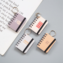 Mini Small Pocket Cute & Kawaii Notebook Coil Paper Notepad Dialy Books for School Office Supplise Stationery jonvon satone crosses blank books grid books stationery tearing practical notepad kraft paper notepad small notebook plan notes