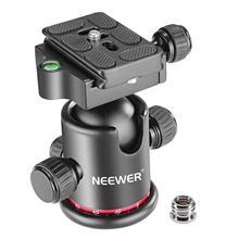 Neewerプロのすべての金属の写真カメラの三脚ボールヘッド