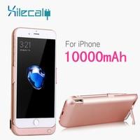 Xilecaly 10000 mah bateria estojo para iphone 7 8 plus power bank caso de carregamento para iphone 6s plus carregador de bateria caso capa|Estojos p/ carregador de bateria| |  -