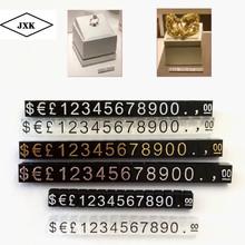 Mini cena cyfry kostki cena wyświetlacz cyfry licznik stojak etykieta metka z ceną tag znak zegarek Jewelries cyfry metka z ceną tanie tanio Environmental recycling 0 4cm Opakowanie i wyświetlacz biżuterii Tagi Cena tagi Z tworzywa sztucznego 0 6cm Price prices in pound