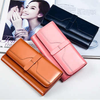 New Fashion Women\'s Wallet Women\'s Long Money Clip - DISCOUNT ITEM  20 OFF All Category