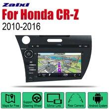 Android автомобильное радио стерео gps навигация для honda cr