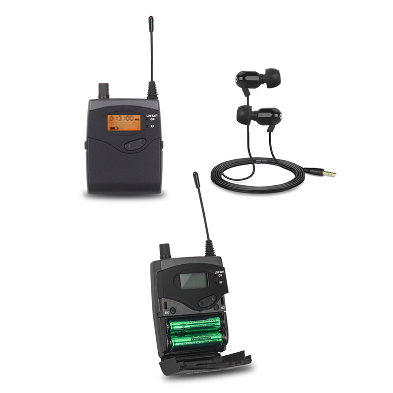 NTBD Stage Performance and Sound Broadcast SR2050 Professional Wireless In Ear-Monitor System 4 Transmitters Restore Real Sound