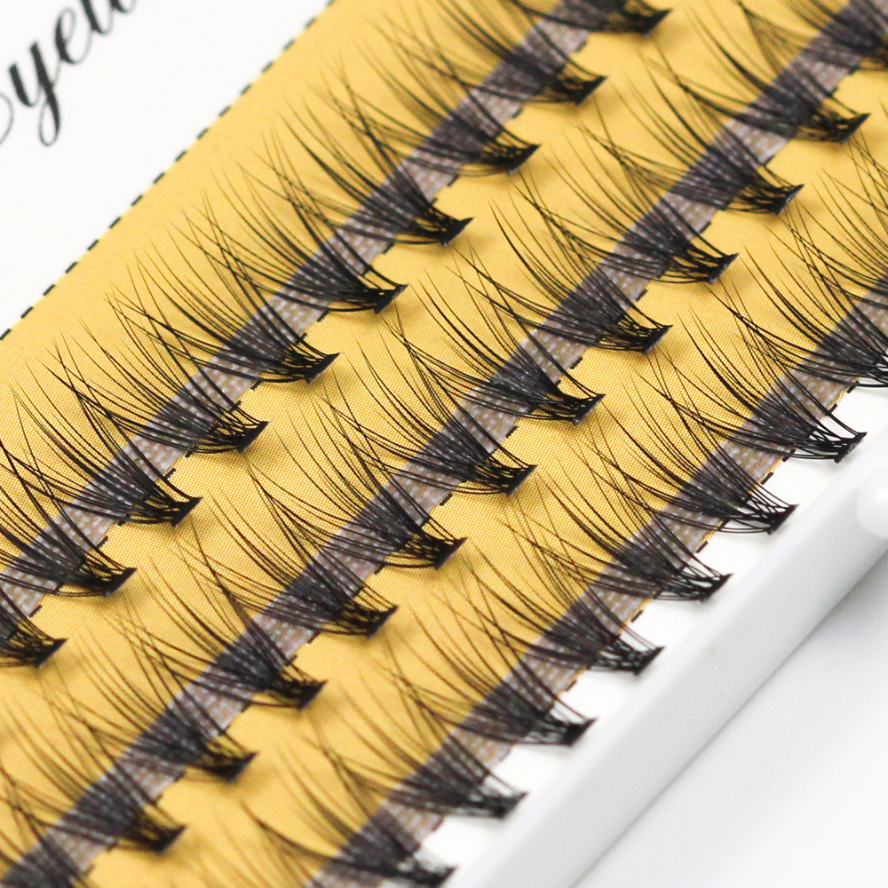 Grafting Wolrd 20D Individual Eyelash 60 Pcs For Make UP 0.07/ 0.1 Thick 8-15mm Russia Volume Cilia