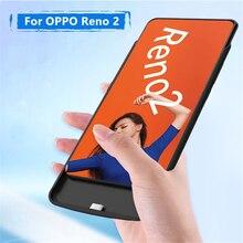 6500mAh Backup Power Bank Case For OPPO Reno 2 Battery Case Ultra Slim